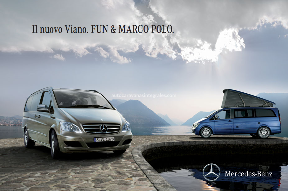 CATALOGO MERCEDES VIANO FUN MARCO POLO 2011