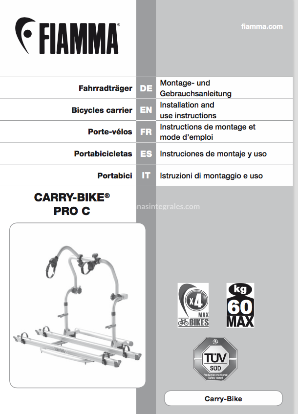 MANUAL MONTAJE CARRY BIKE