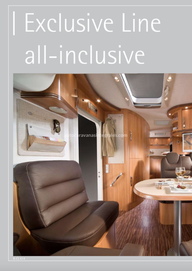 CATALOGO HYMER B EXCLUSIVE LINE